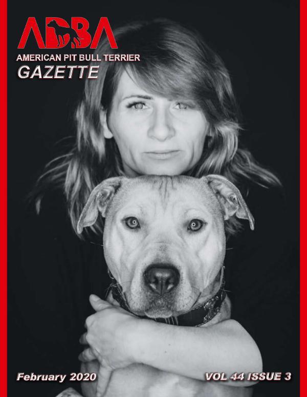 American Pit Bull Terrier Gazette Volume 44 Issue 3