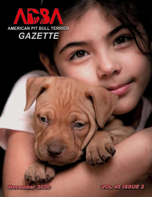 American Pit Bull Terrier Gazette Volume 45 Issue 2