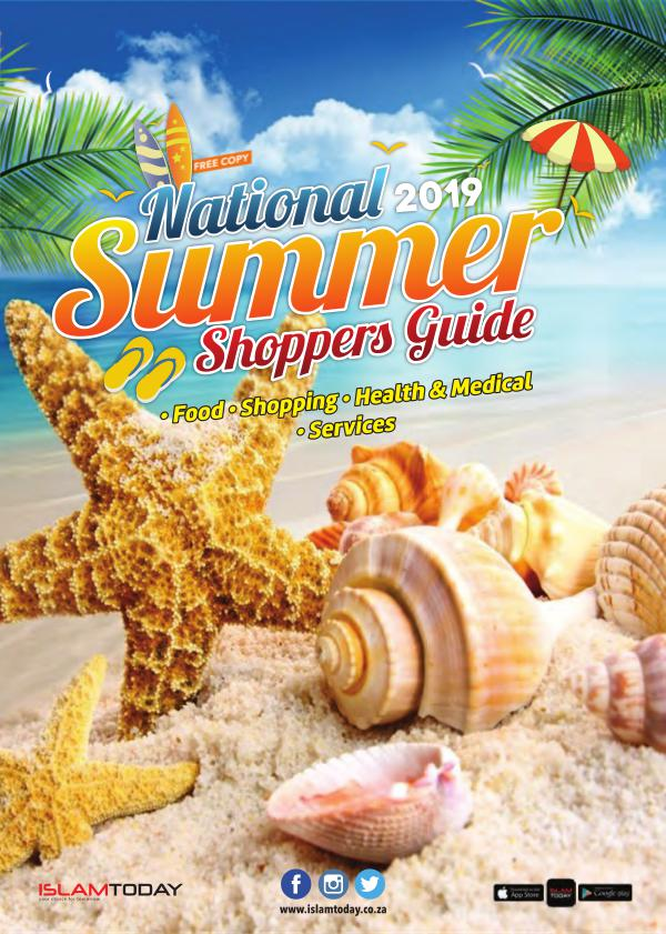 Summer Shoppers Guide 2019