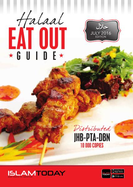 Johannesburg Eat Out Guide