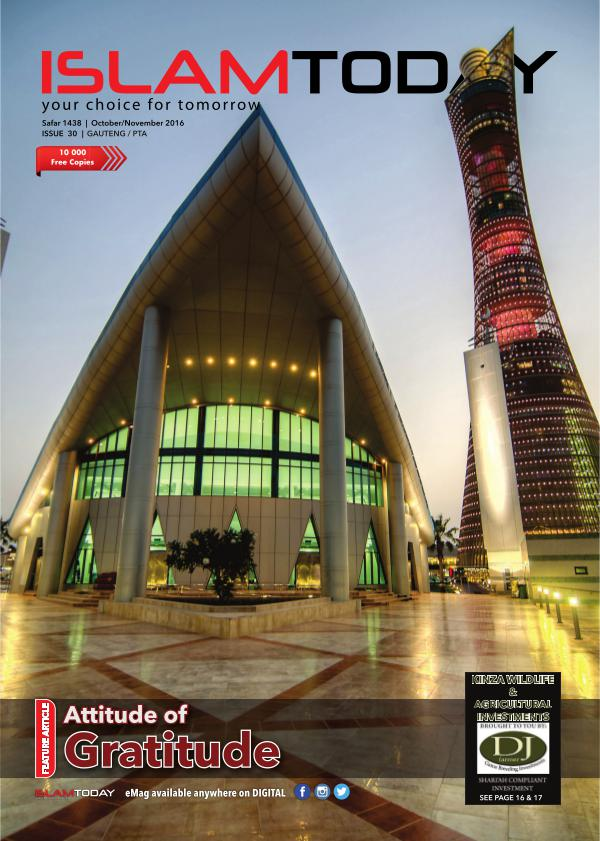 Islam Today Issue 30 JHB