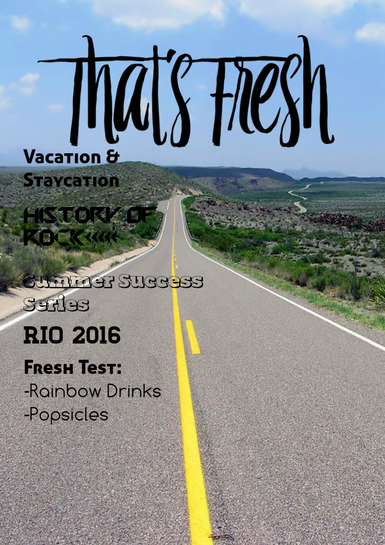 That's Fresh August Issue