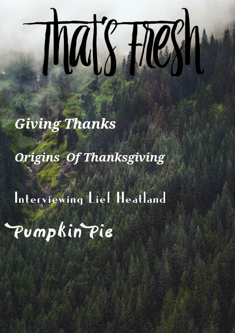 That's Fresh November Issue