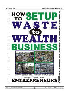 WASTE TO WEALTH BUSINESS