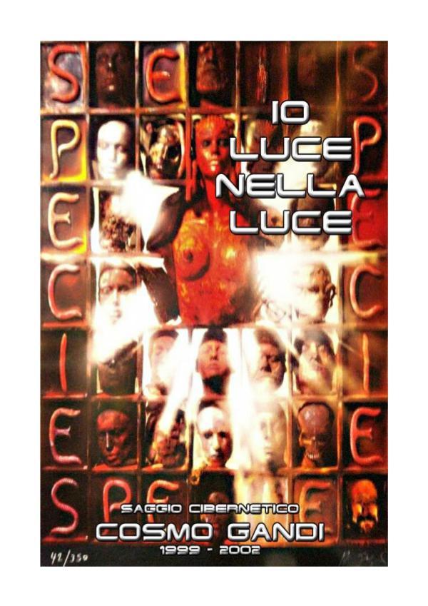 < IO LUCE NELLA LUCE > SAGGIO