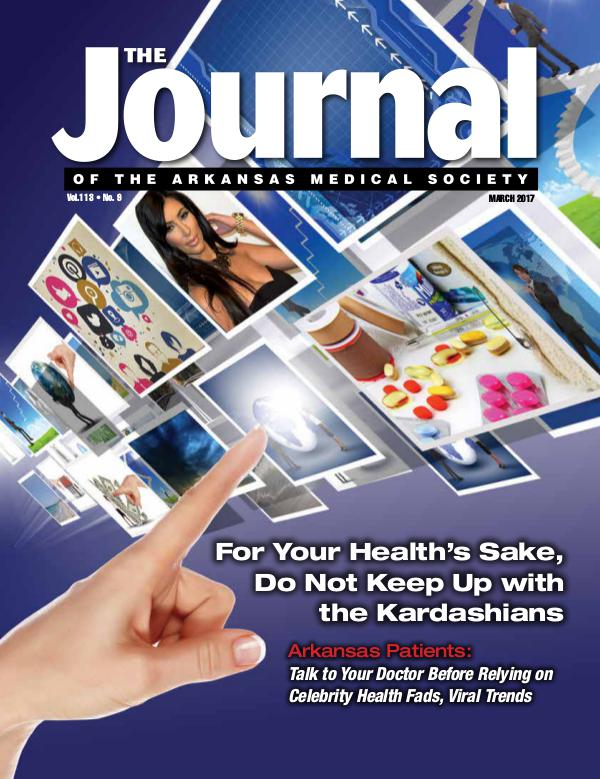 The Journal of the Arkansas Medical Society Issue 9 Vol 113