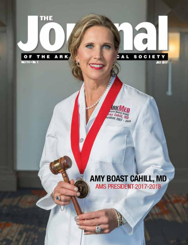 The Journal of the Arkansas Medical Society Issue 1 Vol 114