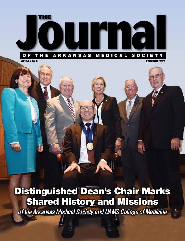 The Journal of the Arkansas Medical Society Issue 3 Volume 114