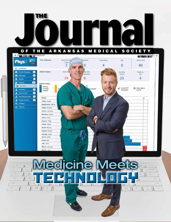 The Journal of the Arkansas Medical Society Issue 4 Volume 114