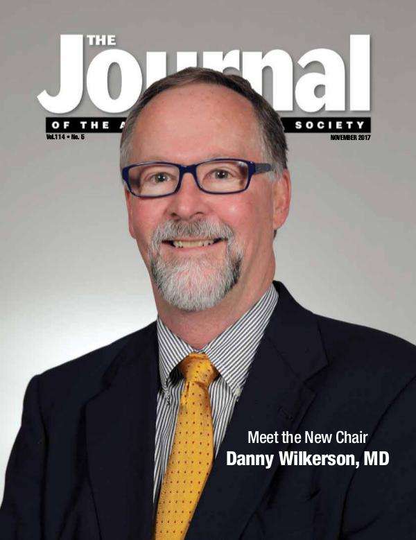 The Journal of the Arkansas Medical Society Issue 5 Volume 114