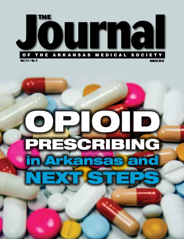 The Journal of the Arkansas Medical Society Issue 9 Vol 114
