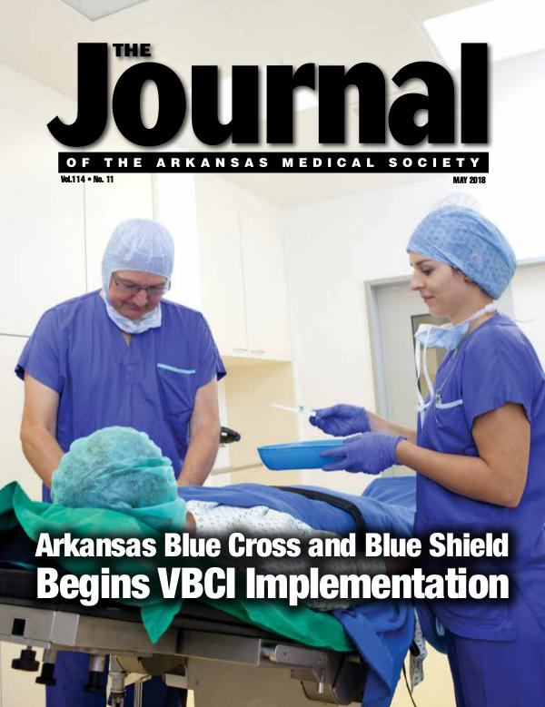 The Journal of the Arkansas Medical Society Issue 11 Vol 114