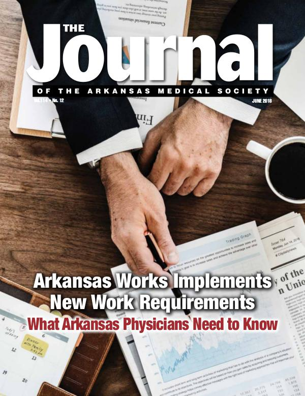 The Journal of the Arkansas Medical Society Issue 12 Vol 114