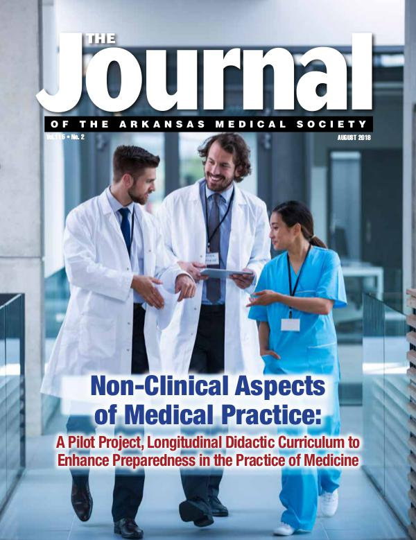 The Journal of the Arkansas Medical Society Issue 2 Vol 114