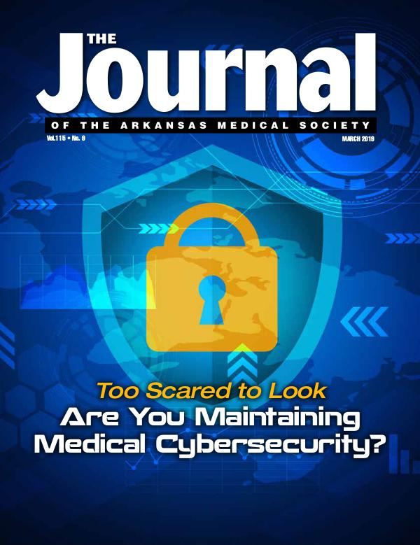 The Journal of the Arkansas Medical Society, Vol 115, No. 9 Med Journal March 2019 Final 2