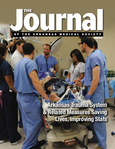 The Journal of the Arkansas Medical Society Issue 11 Vol 112