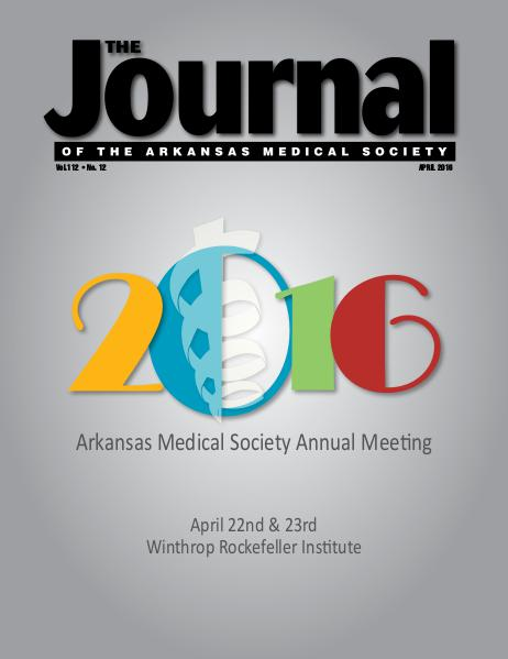 The Journal of the Arkansas Medical Society Issue 12 Vol 112