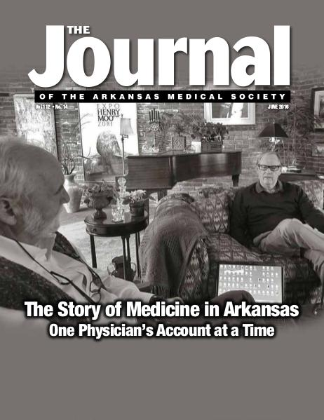 The Journal of the Arkansas Medical Society Issue 14 Vol 112
