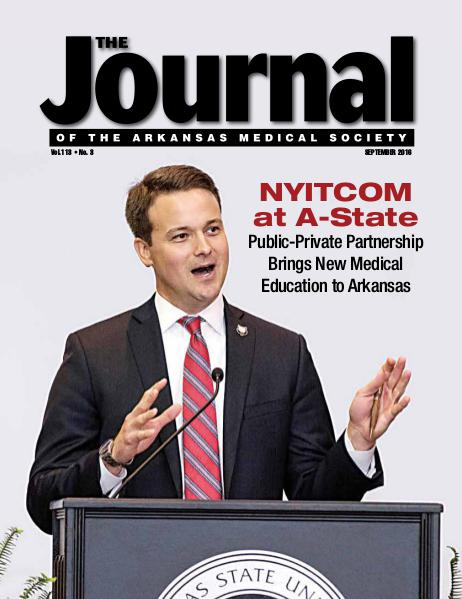 The Journal of the Arkansas Medical Society Issue 3 Volume 113