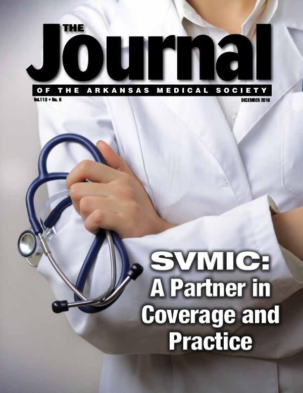 The Journal of the Arkansas Medical Society Issue 6 Volume 114
