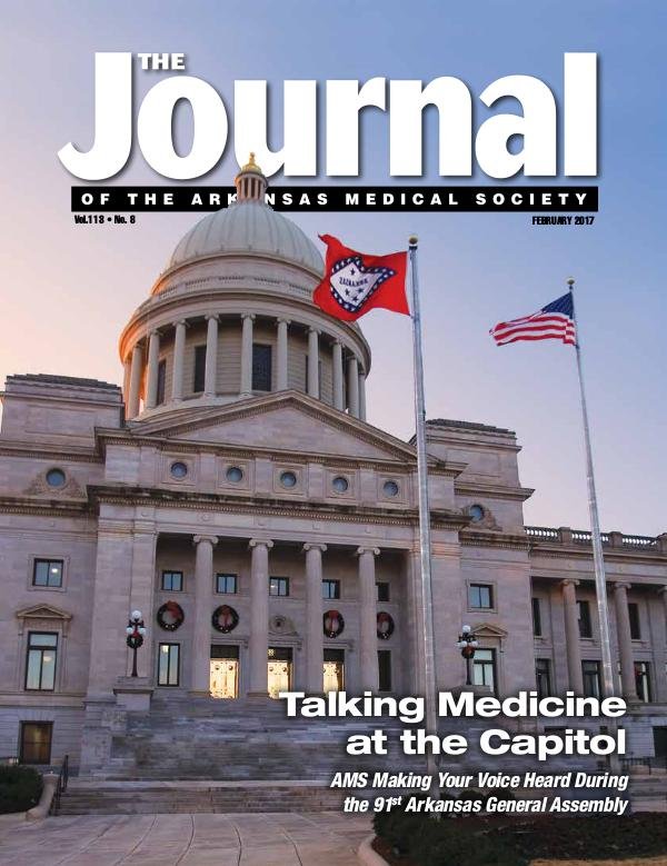The Journal of the Arkansas Medical Society Issue 8 Volume 114
