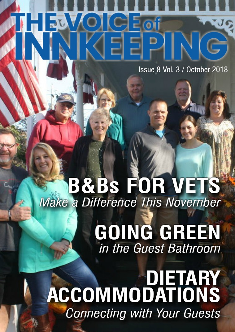 The Voice of Innkeeping Vol 3 Issue 8 October 2018
