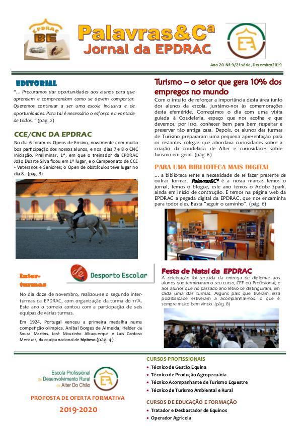 Palavras&Cª Natal 2019 Jornal Palavras &Cª Natal 2019