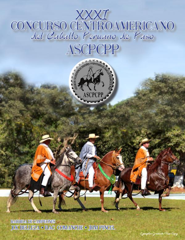 Paso Llano Magazine 2016 Anuario, Concurso Centroamericano-El Salvador