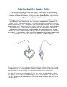 Order Sterling Silver Earrings Online