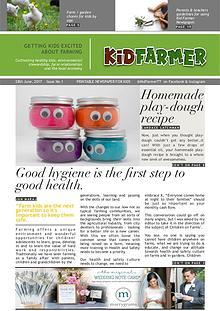 Kid Farmer Newspaper