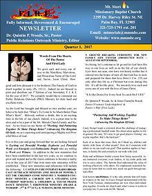 2017 Q1 FIRE Newsletter