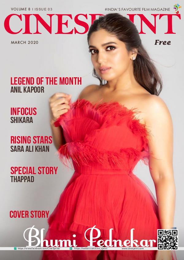 Cinesprint Magazine March - 2020 Cinesprint Magazine March-2020