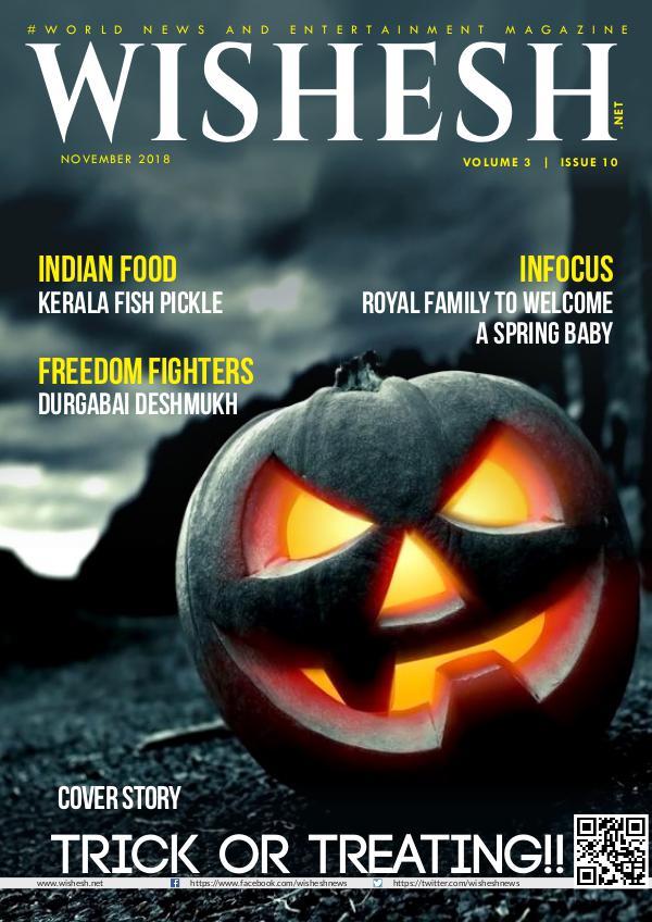 Wishesh Magazine November_2018 Wishesh Magazine November 2018