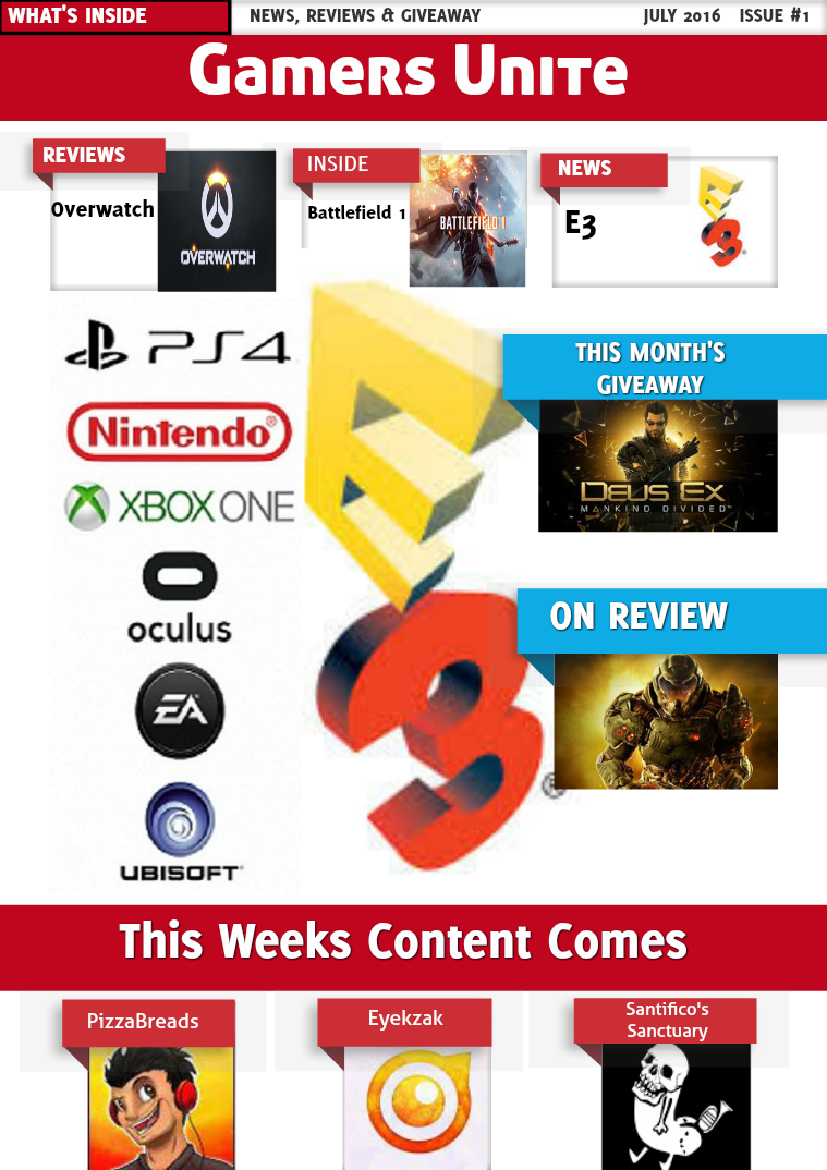 Gamers Unite July 2016