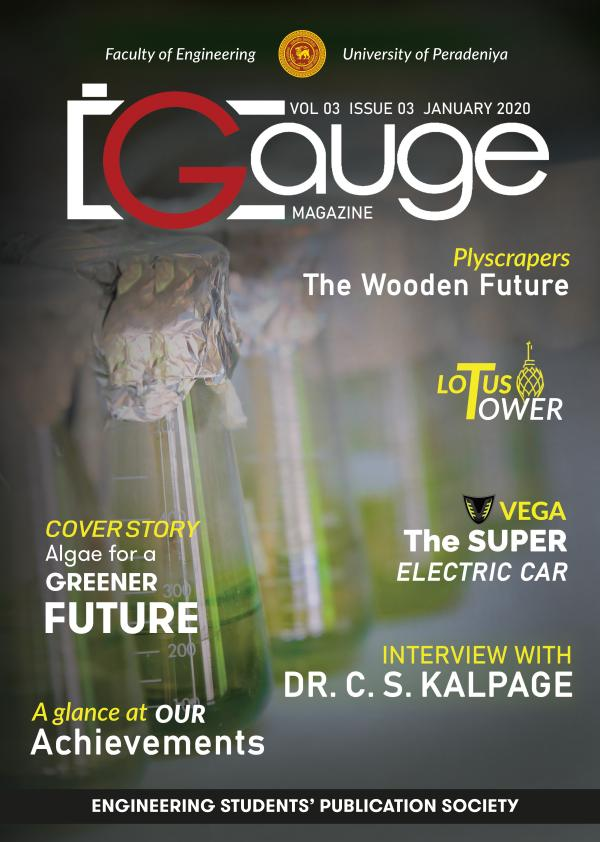 Gauge Newsletter January 2020