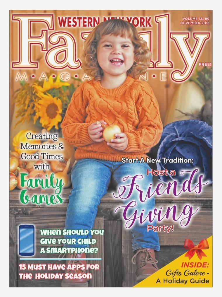 WNY Family Magazine November 2018