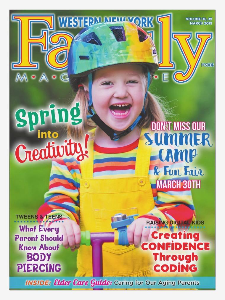 WNY Family Magazine March 2019