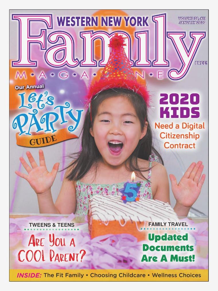 WNY Family Magazine January 2020