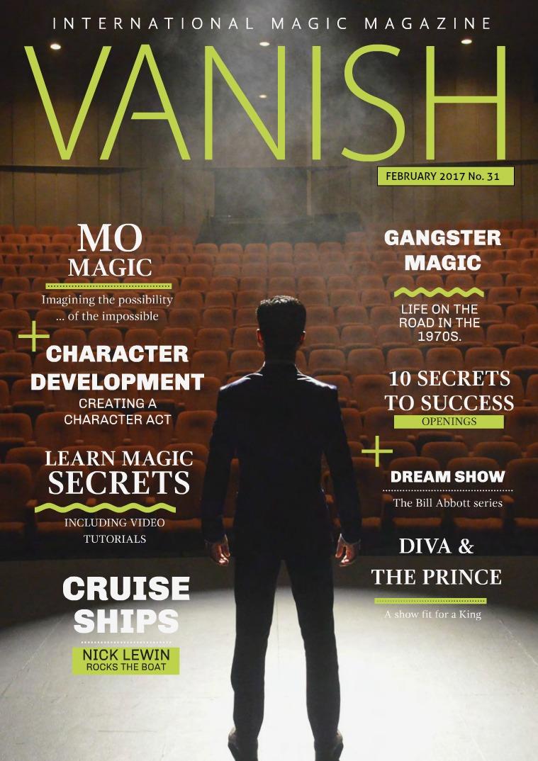 VANISH MAGIC BACK ISSUES VANISH MAGIC MAGAZINE 31 - Mo Magic