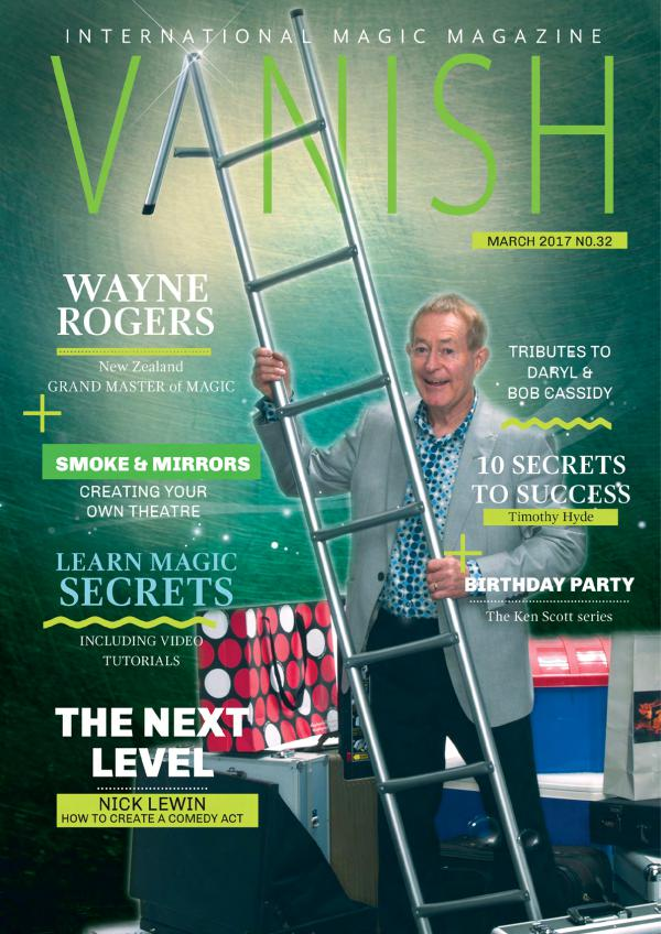 Vanish Magic Magazine VANISH MAGIC MAGAZINE Edition 32