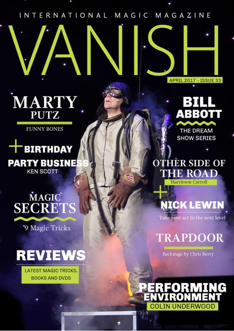Vanish Magic Magazine VANISH MAGIC MAGAZINE Edition 33