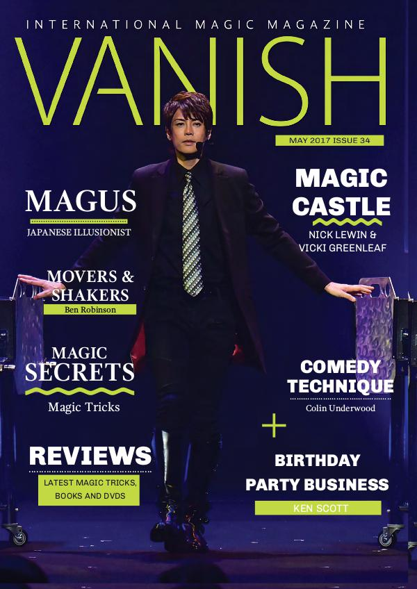 Vanish Magic Magazine Vanish Magic Magazine 34