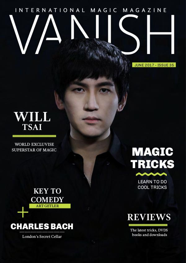 VANISH MAGIC BACK ISSUES Vanish Magic Magazine Edition 35