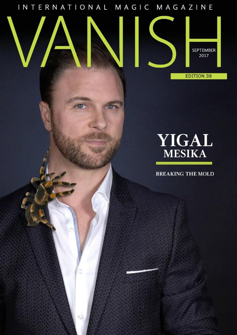 Vanish Magic Magazine Vanish magazine 38