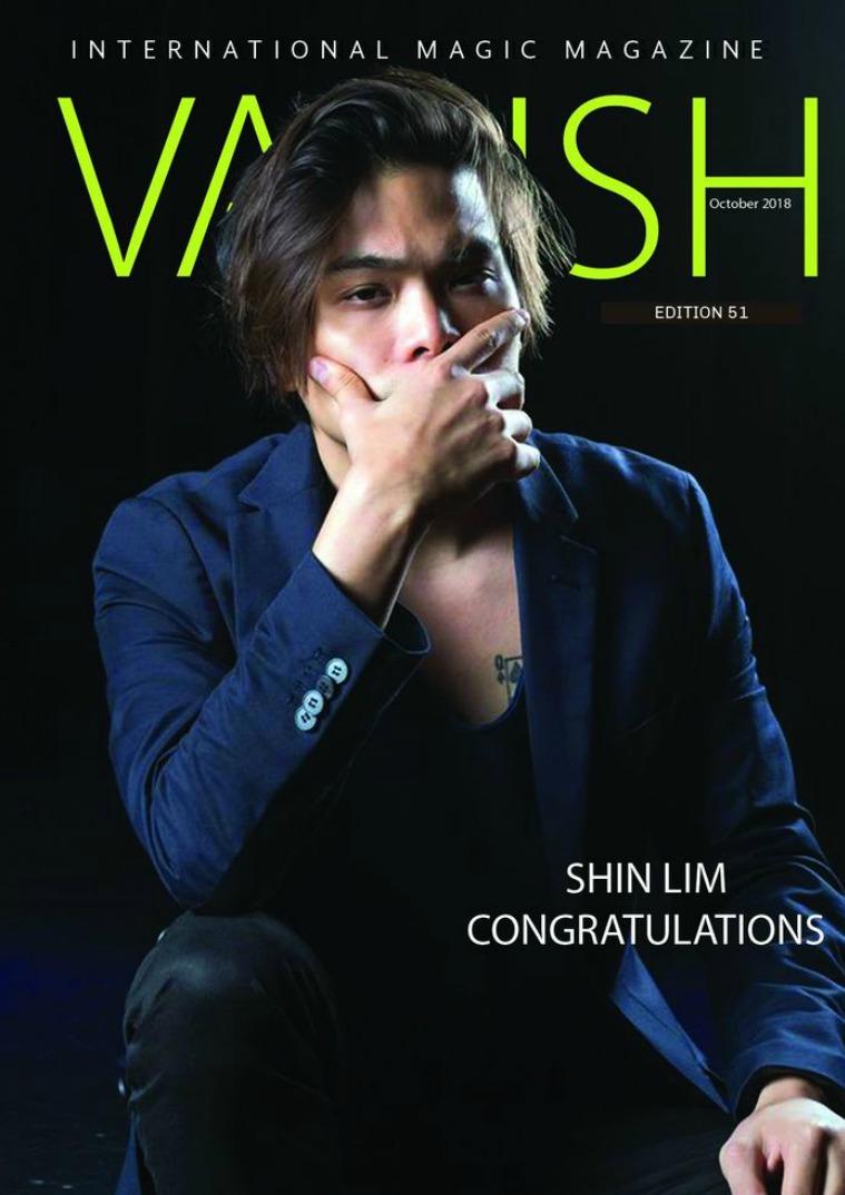 VANISH MAGIC BACK ISSUES Vanish Magic Magazine 51
