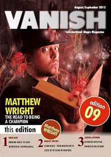 VANISH MAGIC BACK ISSUES