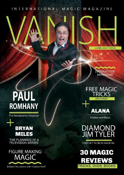 VANISH MAGIC BACK ISSUES Paul Romhany Edition 26
