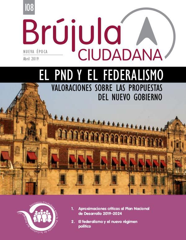 El PND 2019-2024 y el federalismo
