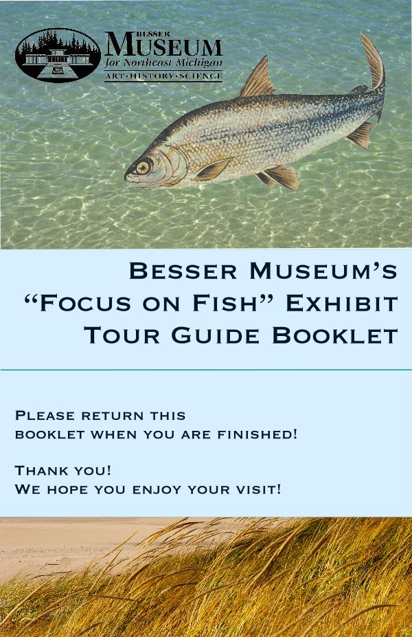Focus on Fish Gallery Guide Focus on Fish Final