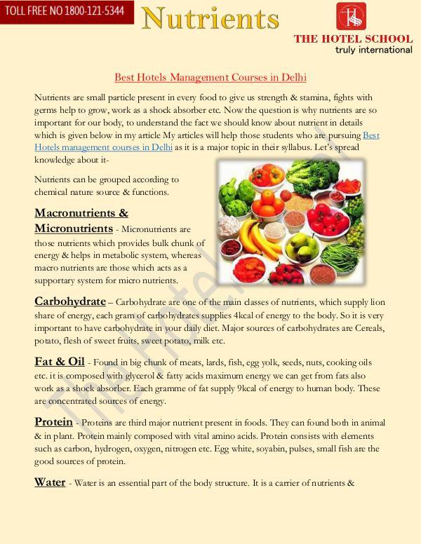 Best Hotel Management Course in Delhi Best Hotel Management Course in Delhi